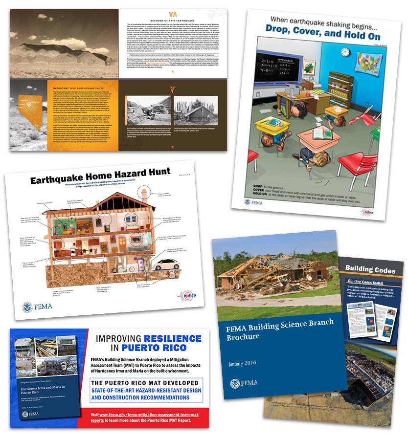 FEMA Building Science Branch publications